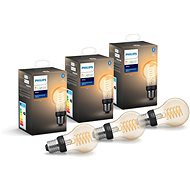 Philips Hue White Filament 7 W E27 A60 3 ks
