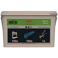 System Leveling Aplikačný SET 100/100/1 – 1 mm - Náradie pre obkladačov