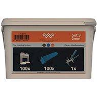 System Leveling Aplikačný SET 100/100/1 – 2 mm - Náradie pre obkladačov