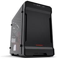 Phanteks Enthoo Evolv ITX Tempered čierno-červená - Počítačová skriňa