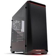 Phanteks Eclipse P400S Tempered čierno-červená - PC skrinka