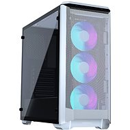 Phanteks Eclipse P400A Tempered Glass, DRGB – White - PC skrinka
