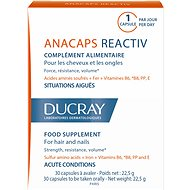 Ducray Anacaps Reactiv -  Dietary Supplement for Hair and Nails - Reaction Factors of 30 Capsules - Dietary Supplement