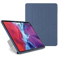 """Pipetto Origami Case pre Apple iPad Pro 12,9"""" (2020) – modré - Puzdro na tablet"""