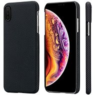 Pitaka Aramid Case Black/Grey Plain iPhone XS Max - Kryt na mobil