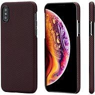 Pitaka Aramid Case Black/Red Plain iPhone XS/X - Kryt na mobil