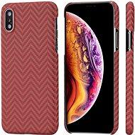 Pitaka Aramid Case Red/Orange iPhone XS/X - Kryt na mobil