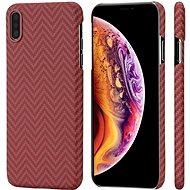 Pitaka Aramid Case Red/Orange iPhone XS Max - Kryt na mobil