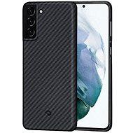 Kryt na mobil Pitaka MagEZ case Black/Grey Galaxy S21 - Kryt na mobil