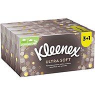 KLEENEX Ultra Soft Box (80 ks) 3 + 1 - Papierové vreckovky
