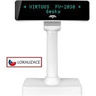 Virtuos VFD FV-2030W 2× 20 9 mm biely - Zákaznícky displej