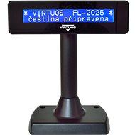 Virtuos LCD FL-2025MB 2× 20 čierny