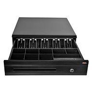 Virtuos C425C čierna s káblom 24 V - Pokladničná zásuvka