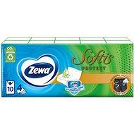 ZEWA Sofis Protect (10 × 9 ks) - Papierové vreckovky