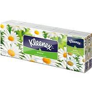 KLEENEX Family – Camomile (10× 10 ks) - Papierové vreckovky