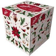 LINTEO Vianočné s balzamom (80 ks) - Papierové vreckovky