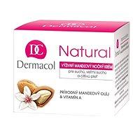 DERMACOL Natural mandľový nočný krém 50 ml - Pleťový krém