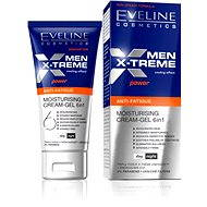 EVELINE Cosmetics Men X-treme moisturizing cream-gel 6in1 anti-fatique 50 ml - Pánsky pleťový krém