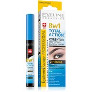EVELINE COSMETICS Eyebrow Th. Professional Corrector With Henna 8 in 1 10 ml - Korektor