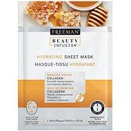 FREEMAN Beauty Infusion hydratačná maska ??Manuka Med + kolagén 25 ml - Pleťová maska
