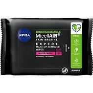 NIVEA MicellAIR Expert Remover Wipes 20 ks - Odličovacie obrúsky