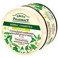 GREEN PHARMACY Normalizujúci matovací krém Zelený čaj 150 ml - Pleťový krém