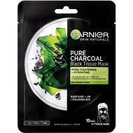GARNIER Skin Naturals Pure Charcoal Black Tissue Mask s extraktom zmorských rias 28 g