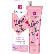 DERMACOL Love My Face Soothing Care Pear & Watermelon Scent 50 ml - Pleťový krém