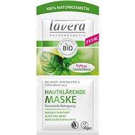 LAVERA Purifying Cleansing Mask Organic Mint 2× 5 ml - Pleťová maska