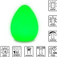 Colour changing Egg ( Large ) - Dekoratívne osvetlenie