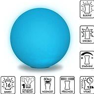 Colour changing Sphere 50 cm - Taburet