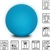 Colour changing Sphere 40 cm - Taburet