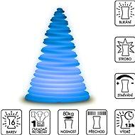 Colour changing Pyramid - Dekoratívne osvetlenie
