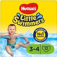 HUGGIES Little Swimmers 3/4 (12 ks) - Plienkové plavky