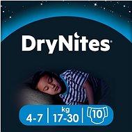 HUGGIES Dry Nites Medium 4-7 years Boys (10 ks) - Detské plienky