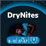 HUGGIES Dry Nites Large 8-15 years Boys (9 ks) - Detské plienky