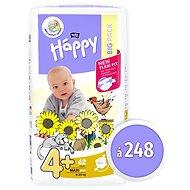 BELLA Baby Happy Maxi Plus veľ. 4+ (248 ks) - Detské plienky