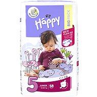 BELLA Baby HAPPY veľ. 5 Junior (58 ks) - Detské plienky