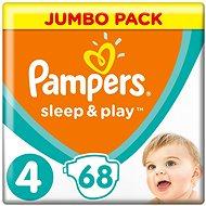 PAMPERS Sleep &vPlay JP veľ. 4 Maxi (68 ks) - Detské plienky