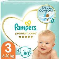 PAMPERS Premium Care Midi veľ. 3 (80 ks) - Detské plienky