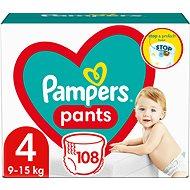 PAMPERS Pants vel. 4 Maxi (9-15 kg) 104ks - megapack - Detské plienkové nohavičky