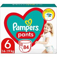 PAMPERS Pants vel. 6 Extra Large (15 kg+) 88 ks - megapack - Detské plienkové nohavičky