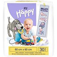BELLA HAPPY Baby Detské podložky 60x60 cm, 30 ks - Prebaľovacia podložka