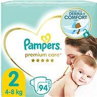 PAMPERS Premium Care Mini veľ. 2 (94 ks) - Detské plienky