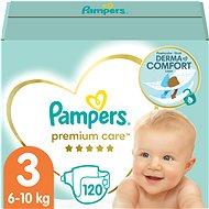 Pampers Premium Care MB vel. 3 Midi (120 ks) - měsíční zásoba - Detské plienky