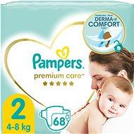 Detské plienky PAMPERS Premium Care Mini veľ. 2 (68 ks)