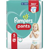 PAMPERS Pants Carry Pack Junior vel. 5 (22 ks) - Plienkové nohavičky