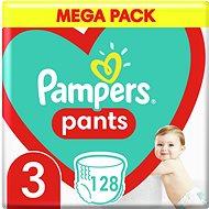 PAMPERS Pants vel. 3 Midi (6-11 kg) 120 ks - megapack - Detské plienkové nohavičky
