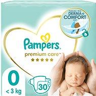 PAMPERS Premium Care Newborn veľ. 0 (30 ks) - Detské plienky