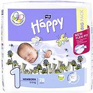 BELLA Baby HAPPY veľ. 1 New Born (78 ks) - Detské plienky